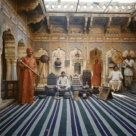 Derry Moore, Traders, Shekhavati, Rajasthan, 1990