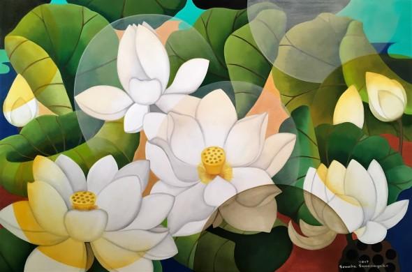 Senaka Senanayake, White Lotus, 2017