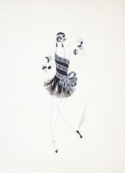 Romain de Tirtoff dit Erté, Dancer's costume, Ragtime, 1975