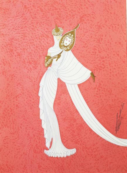 Romain de Tirtoff dit Erté, Costume for Madame Phidias, 1940