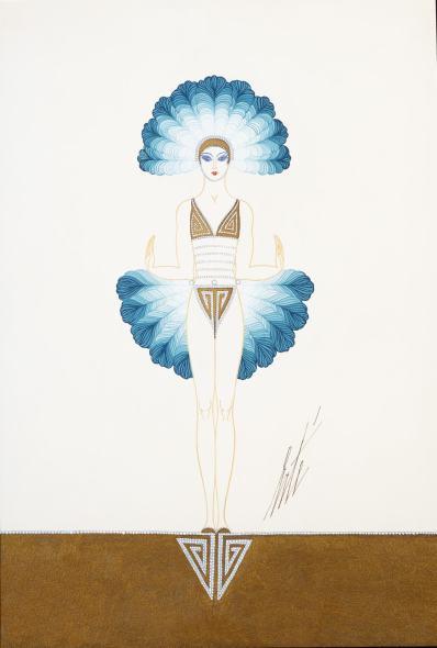 Romain de Tirtoff dit Erté, Costume for Manhattan Mary, 1927
