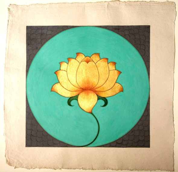 Olivia Fraser, Golden Lotus, 2008