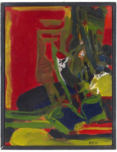 Sayed Haider Raza, Paysage, 1969