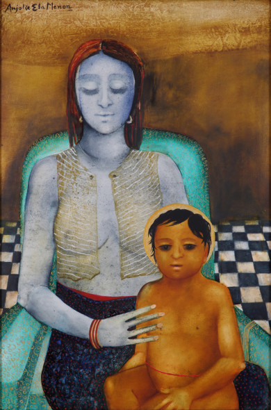 Anjolie Ela Menon, Mother And Son II, 2013