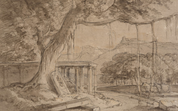 William Daniell, A Ruined Temple