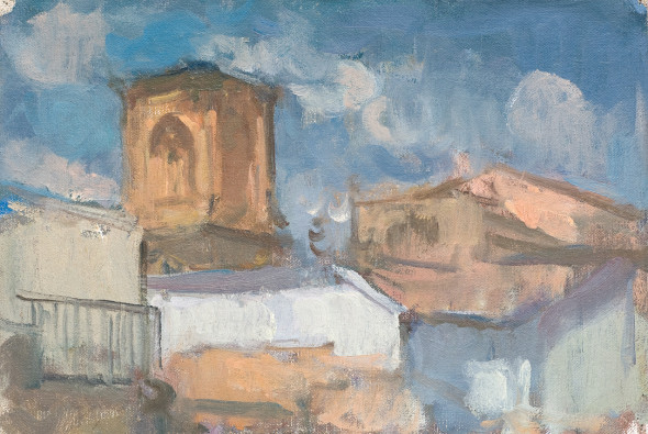 <span class=%22title%22>Catedral de Granada, Through Rooftops</span>