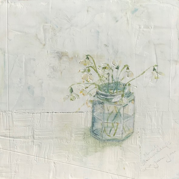 <span class=%22title%22>March Snowdrops in a Jam Jar<span class=%22title_comma%22>, </span></span><span class=%22year%22>2018</span>
