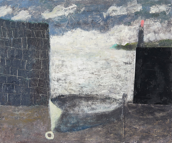 <span class=%22title%22>Harbour Wall and Lighthouse<span class=%22title_comma%22>, </span></span><span class=%22year%22>2017</span>