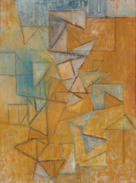 <span class=%22title%22>Untitled (Triangular Composition 2)<span class=%22title_comma%22>, </span></span><span class=%22year%22>c 1955</span>