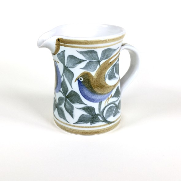 <span class=%22title%22>Straight-sided jug with birds and foliage</span>