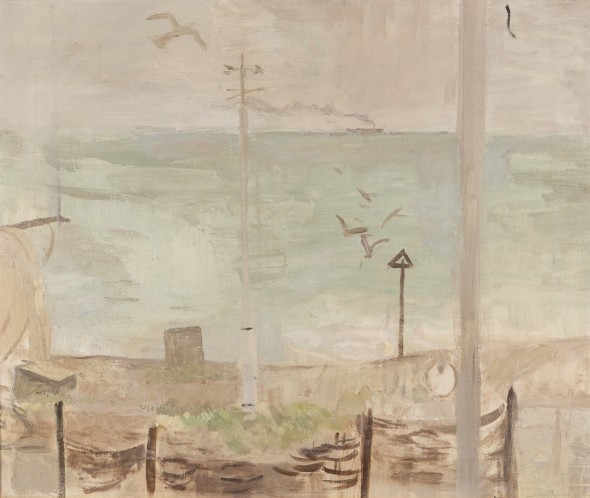 <span class=%22title%22>View from the Studio, March (Aldeburgh Beach)<span class=%22title_comma%22>, </span></span><span class=%22year%22>1958</span>