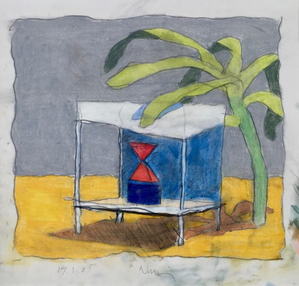 <span class=%22title%22>Untitled (Place with a Green Thing)<span class=%22title_comma%22>, </span></span><span class=%22year%22>1985</span>