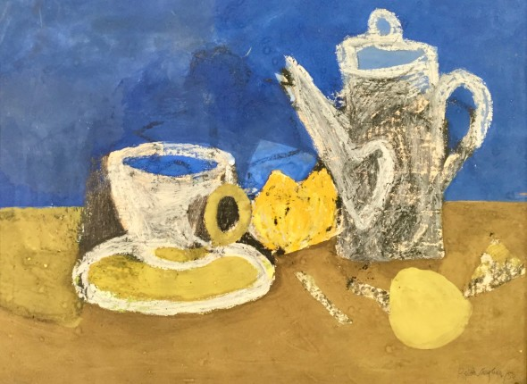 <span class=%22title%22>Still Life with Coffee Pot<span class=%22title_comma%22>, </span></span><span class=%22year%22>1950</span>