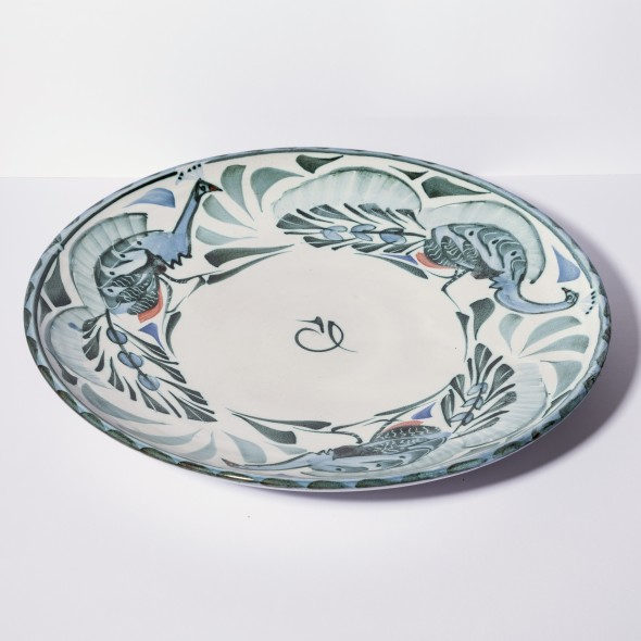 <span class=%22title%22>Large plate with peacocks<span class=%22title_comma%22>, </span></span><span class=%22year%22>2000 circa</span>