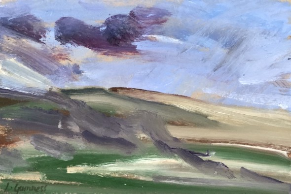 <span class=%22title%22>Untitled (Landscape with Purple Sky)<span class=%22title_comma%22>, </span></span><span class=%22year%22>2020</span>