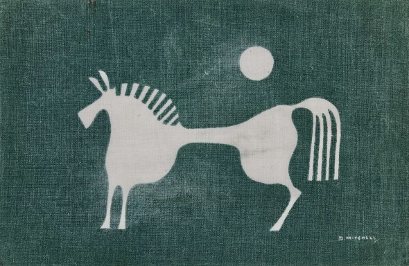 <span class=%22title%22>Design for White Horse Table Linen (Porthia)<span class=%22title_comma%22>, </span></span><span class=%22year%22>c 1955</span>