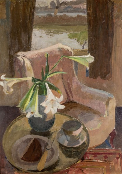 <span class=%22title%22>Interior Still life with Lillies, Chiswick<span class=%22title_comma%22>, </span></span><span class=%22year%22>1927</span>