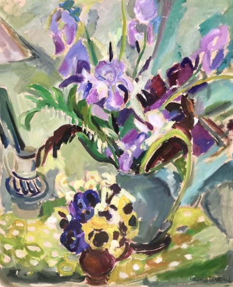 <span class=%22title%22>Irises and Pansies<span class=%22title_comma%22>, </span></span><span class=%22year%22>c 1935</span>