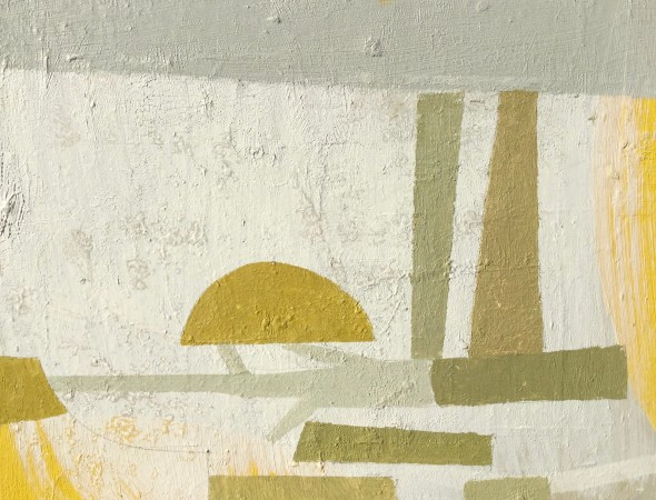 <span class=%22title%22>Untitled (Ochre Shapes)</span>