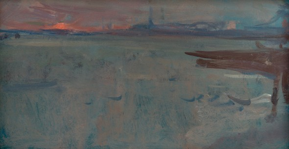 <span class=%22title%22>Sun Going Down (Fusina from Venice)</span>
