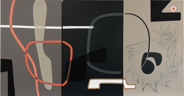 Rose Masterpol, Overtones and Undertones 3-panel