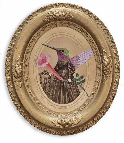 Alexandra Eldridge, Humming Bird & Her Trumpet Flower