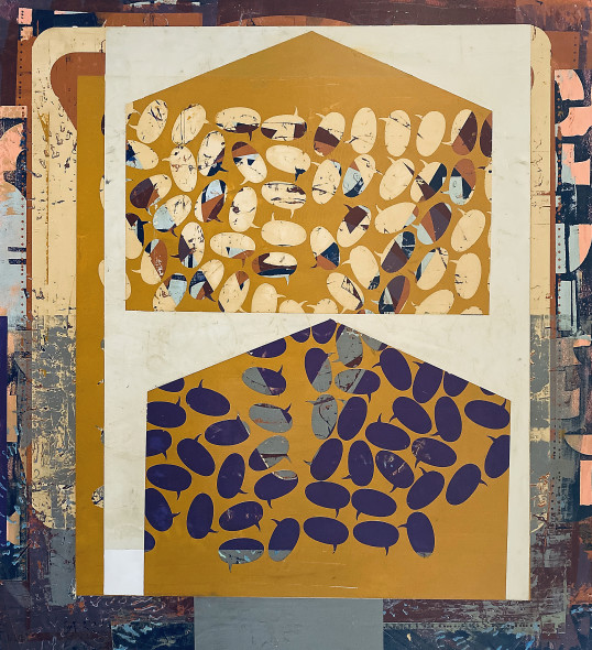 Joseph Ostraff, My House on Your House 1