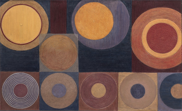 Diana Moore, Irrigation Circles No. 3