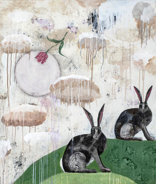 Alexandra Eldridge, Two Rabbits, 2018