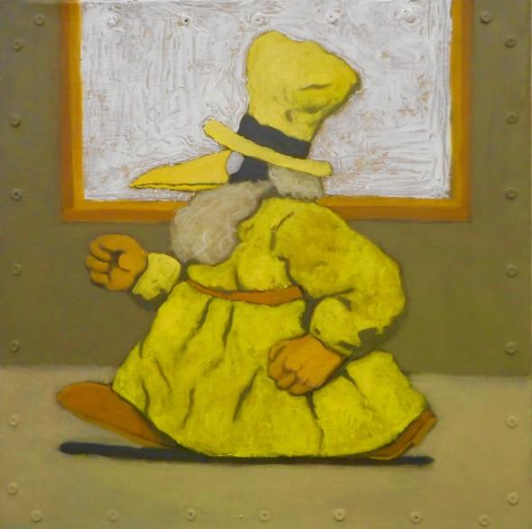 Santiago Perez, White Painting with a Mergatroid