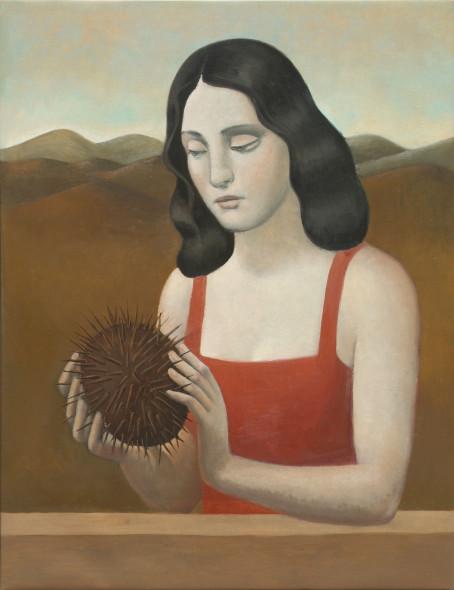 Alberto Galvez, Mujer con Semilla de Alamanda