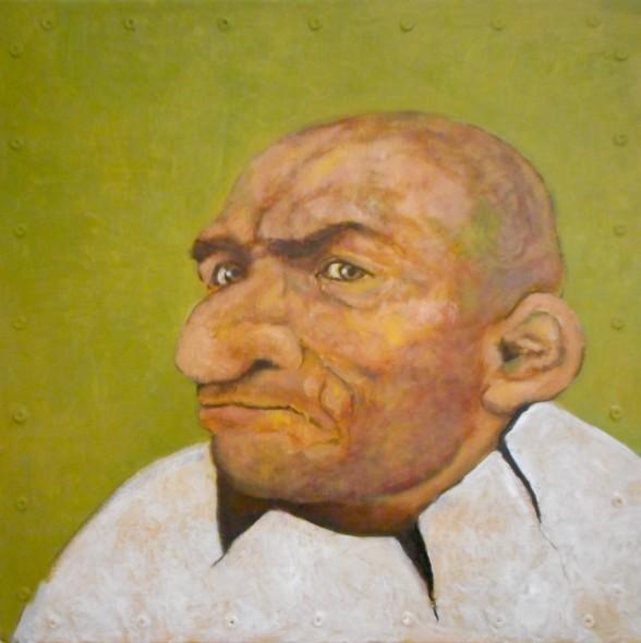 Santiago Perez, Portrait of an Eggman (Walter)