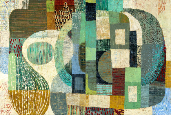 Claire B Cotts, robins and wrens (diptych)