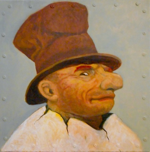 Santiago Perez, Portrait of an Eggman (Quentin)