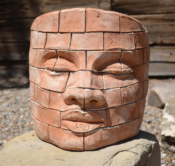 James Tyler, Brick face LOVE 2