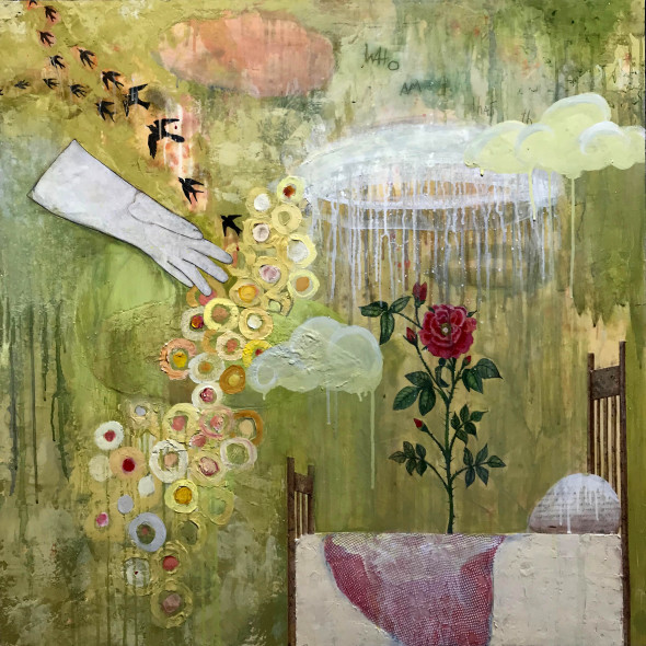 Alexandra Eldridge, Crimson Rose, 2018