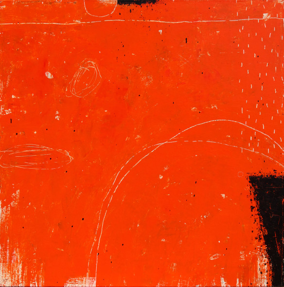 Kevin Tolman, Standing Stones (In Red)