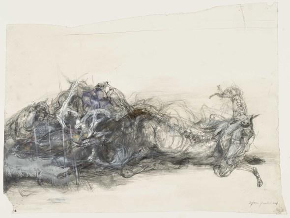 Lanfranco Quadrio, Actaeon devored by his hounds, 2007