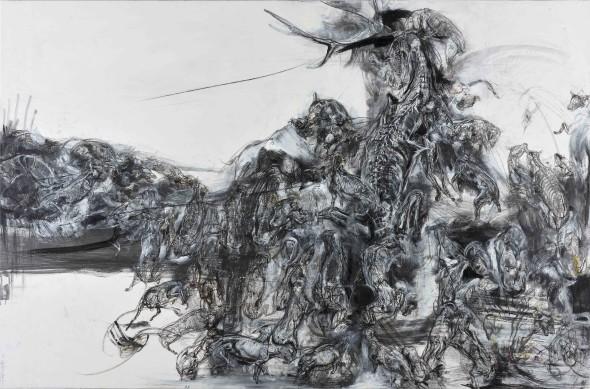 Lanfranco Quadrio, The silent scream of Actaeon, 2015