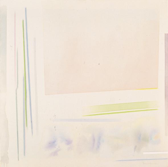 Riccardo Guarneri, Dall'alto un campo rosa, 1998