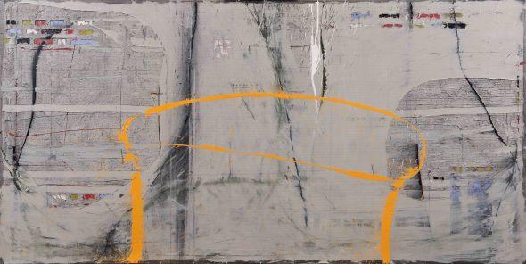 Enrique Brinkmann, Un dibujo amarillo, 2011