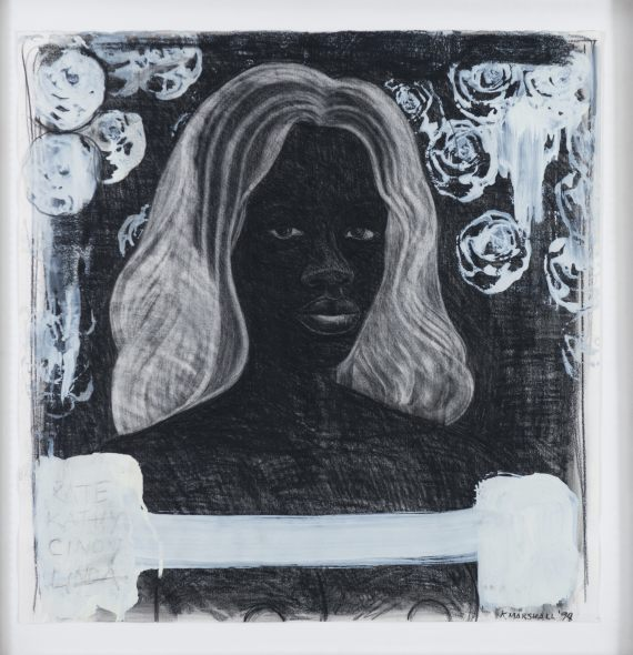 Kerry James Marshall, Untitled (Self-portrait) Supermodel, 1994