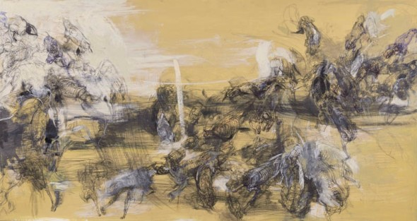 Lanfranco Quadrio, the madness of the fifty hounds, 2013