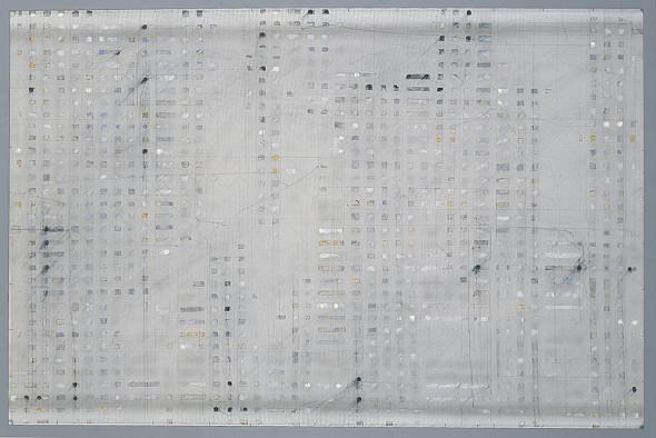 Enrique Brinkmann, Segmentos oleo grafito, 2004