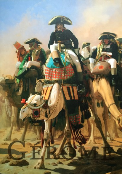 LE GÉNÉRAL BONAPARTE AVEC SON ÉTAT-MAJOR EN EGYPTE