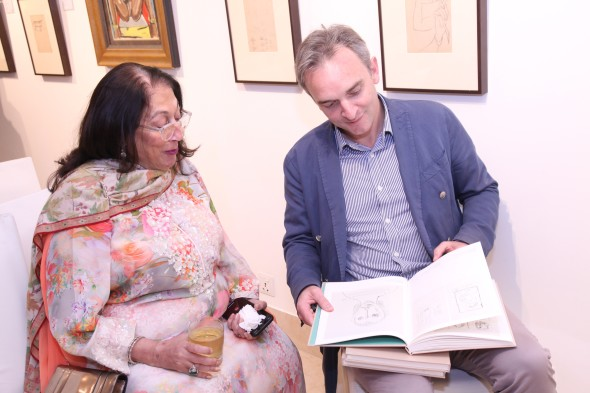 Souza in the 40s, Saffronart, New Delhi Kiran Nadar and Conor Macklin