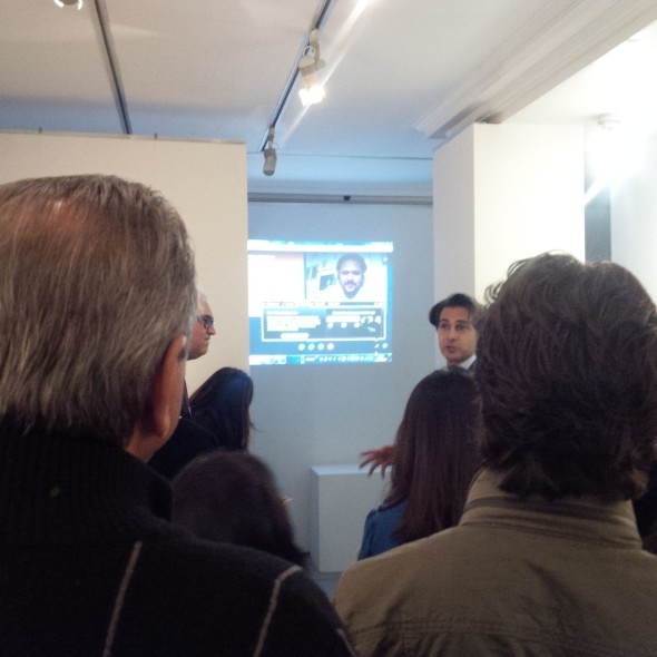 Dr Amin Jaffer in conversation with the Artist