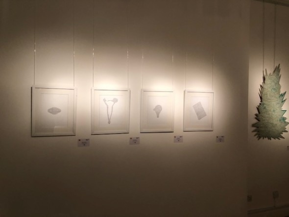 Multiple Narratives installation shot: Yasser Vayani, Salman Toor