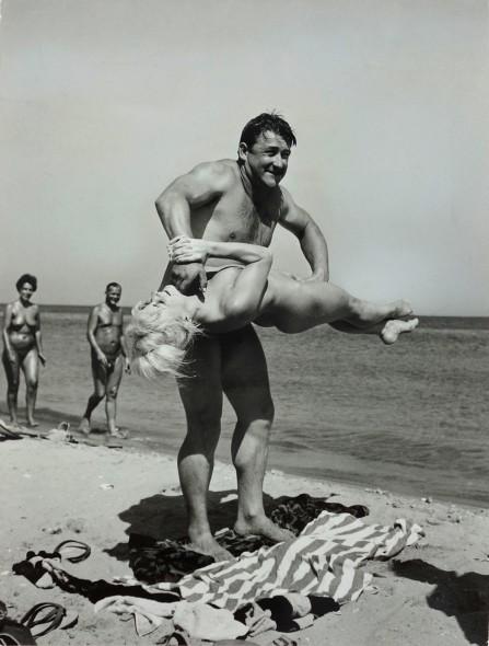 Beach Strongman