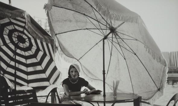 Renée au Palm Beach, Cannes, août 1931.